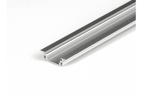 Профиль алюминиевый врезной PL Т15 L-2000mm