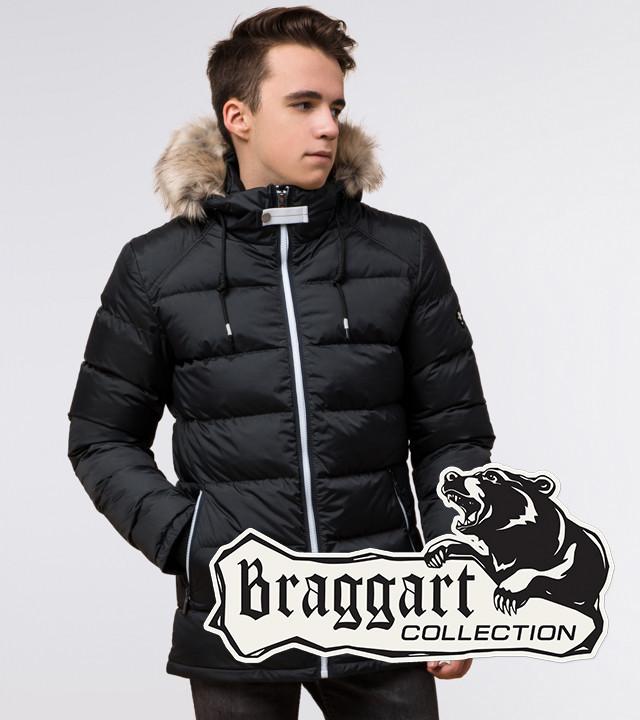 Подросток 13-17 лет | Зимняя куртка Braggart Teenager 73563 графит р. 40 42 44 46