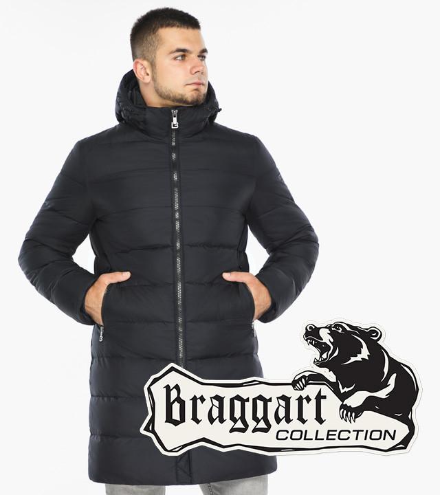 Braggart Aggressive 42110 | Зимняя куртка темно-синяя р. 48 50 52 54 56