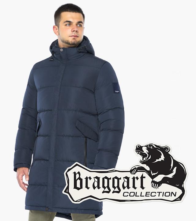 Braggart Aggressive 23410 | Зимняя куртка синяя р. 48 50 52 54 56