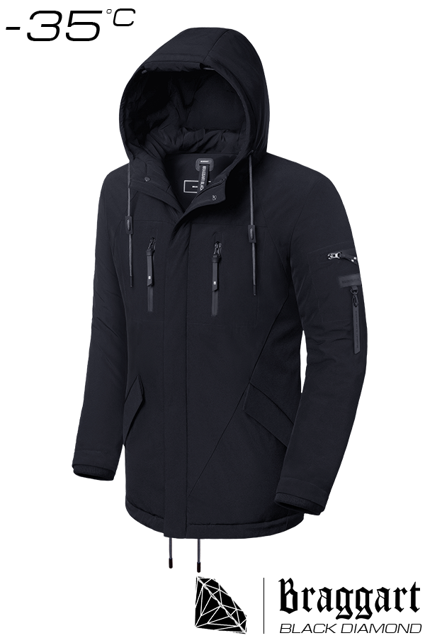Куртка зимняя до -35 градусов Braggart Black Diamond р. 46