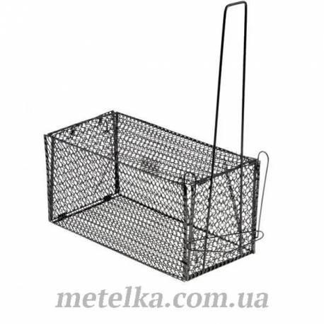 Крысоловка-клетка металлическая 23 см