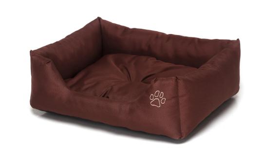 Лежак для собак Noble Pet Richard R2107/55 коричневый