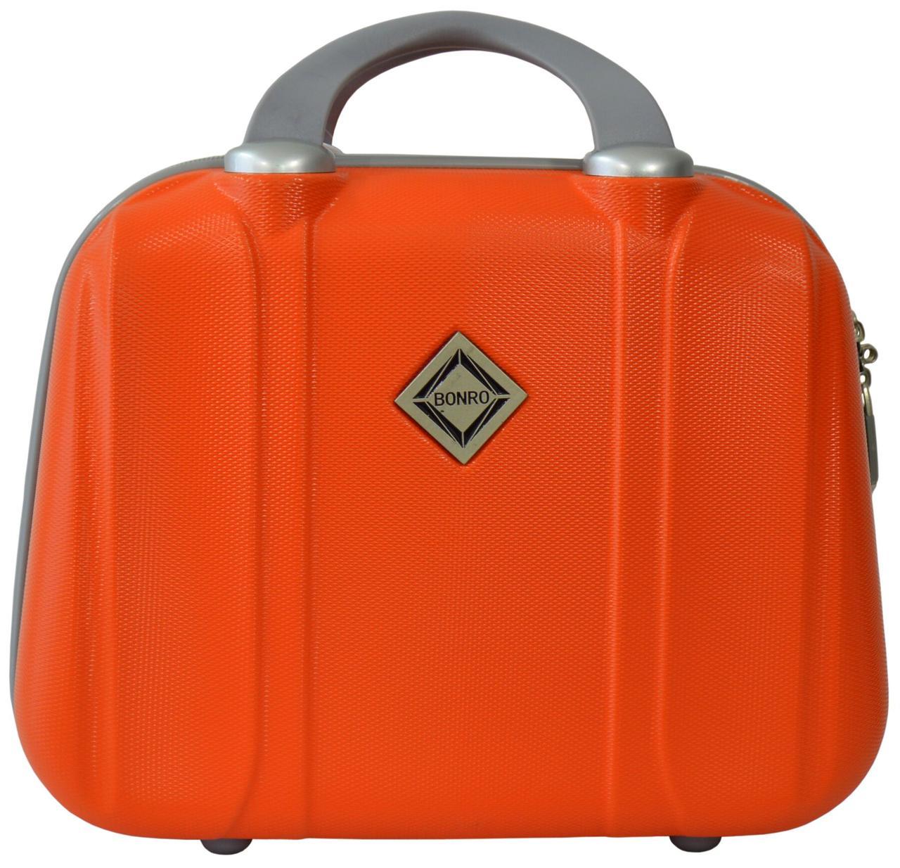 Кейс дорожній Bonro Smile великий оранжевий (10091613)