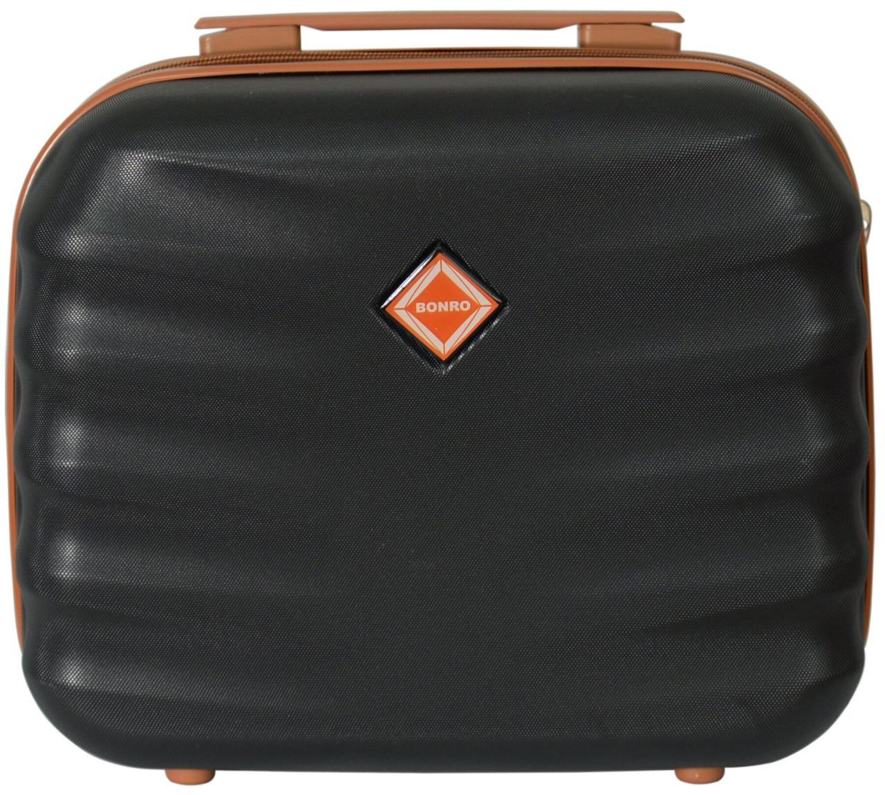 Кейс дорожній Bonro Next середній чорний (10060100)
