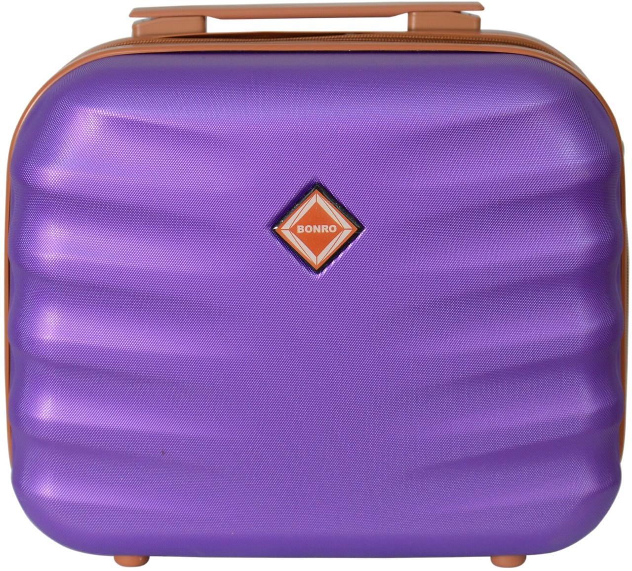 Кейс дорожній Bonro Next середній фіолетовий (10060103)