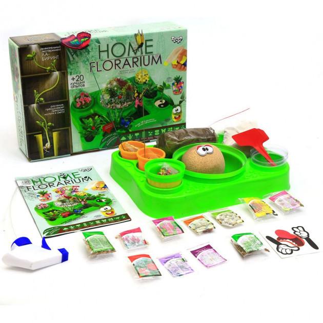 Детский набор для выращивания растений Home Florarium, Danko Toys