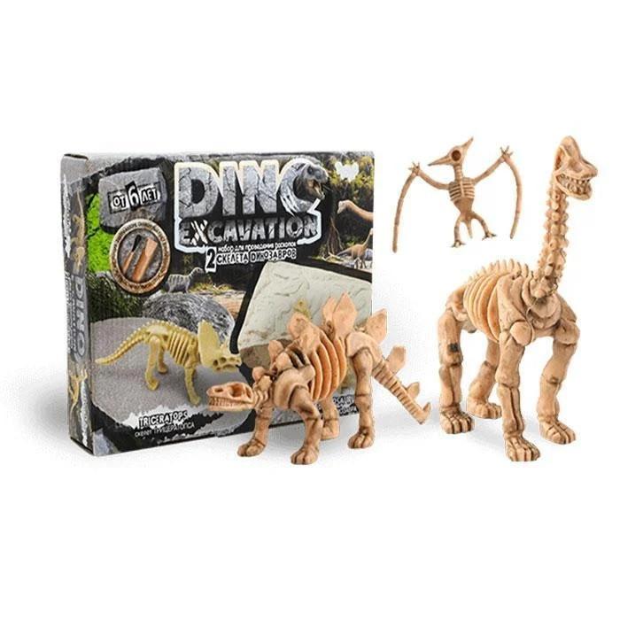 Набор детский для проведения раскопок, Палеонтология, Danko Toys