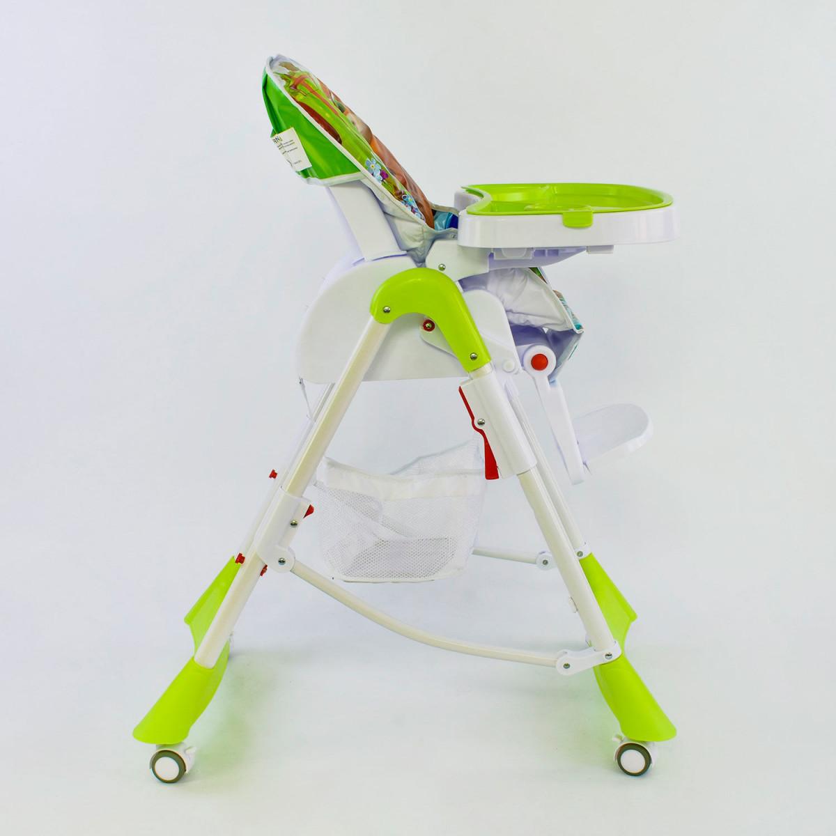 Стульчик для кормления на колесиках