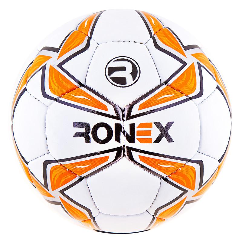Мяч футбольный Grippy Ronex-MLT, оранжевый, 5.