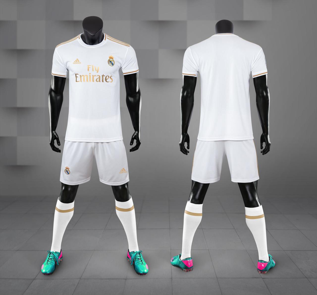 Футбольная форма Реал Мадрид домашняя 2019/20