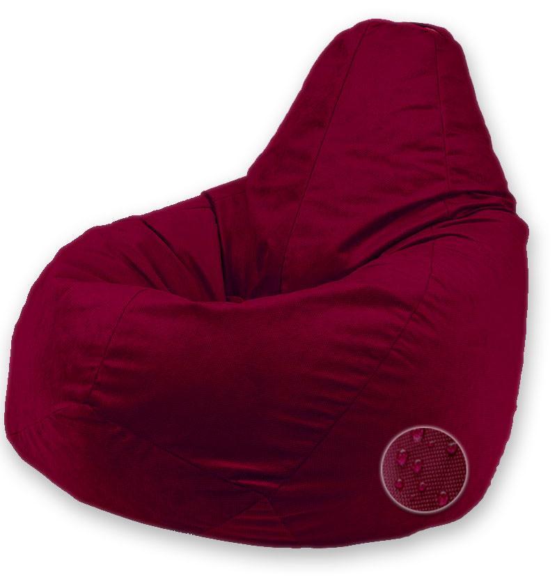 Кресло Мешок Пуфик Груша Оксфорд Большой размер Бордовый