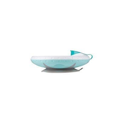 Тарелка на присоске с подогревом, BabyOno, тарелка на присоске 1070