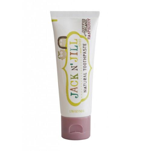 Натуральная зубная паста Jack n' Jill Natural Toothpaste Малина