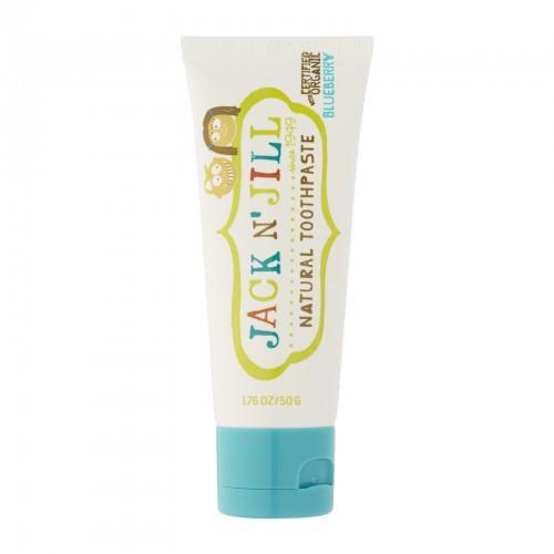 Натуральная зубная паста Jack n' Jill Natural Toothpaste Черника