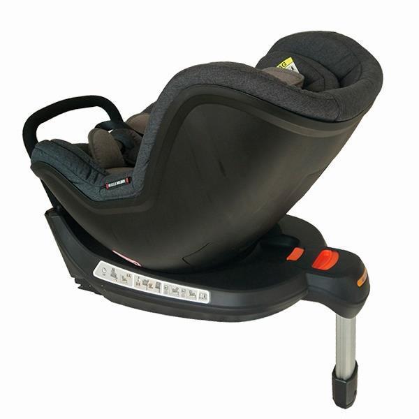 Автокресло Welldon Safe Rotate FIX (графитовый/серый) IG03-S95-001