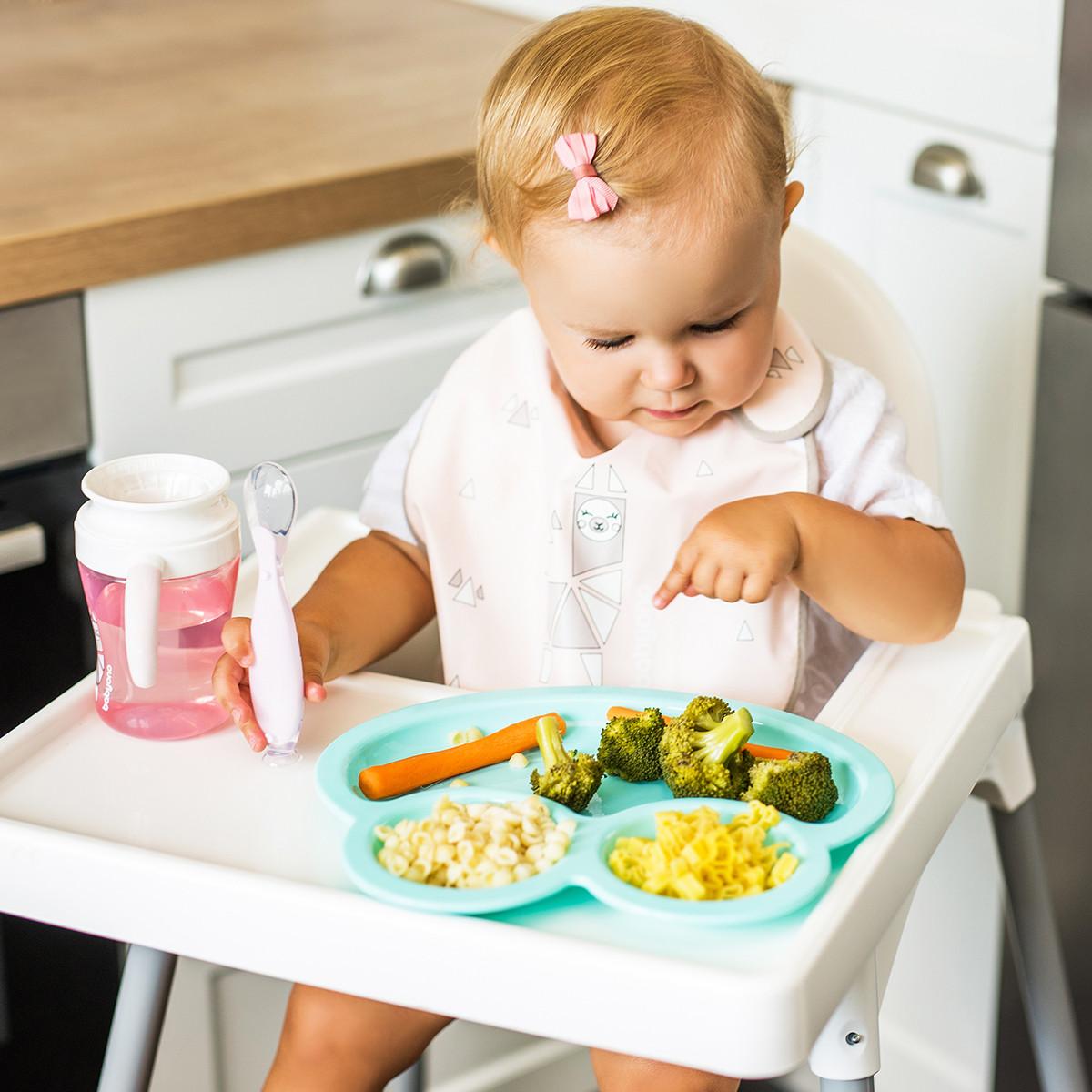Детская тарелка для прикорма FROG, мисочка Babyono 1073/01