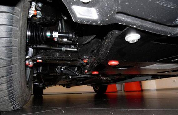 Защита картера (двигателя) и Коробки передач на Акура РЛ 2 (Acura RL II) 2005-2012 г