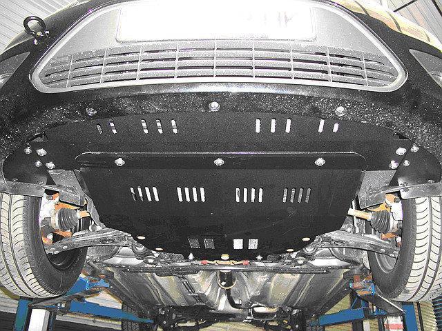 Защита картера (двигателя) и Коробки передач на ФАВ Вейжи V5 (FAW Weizhi V5) 2012 - ... г