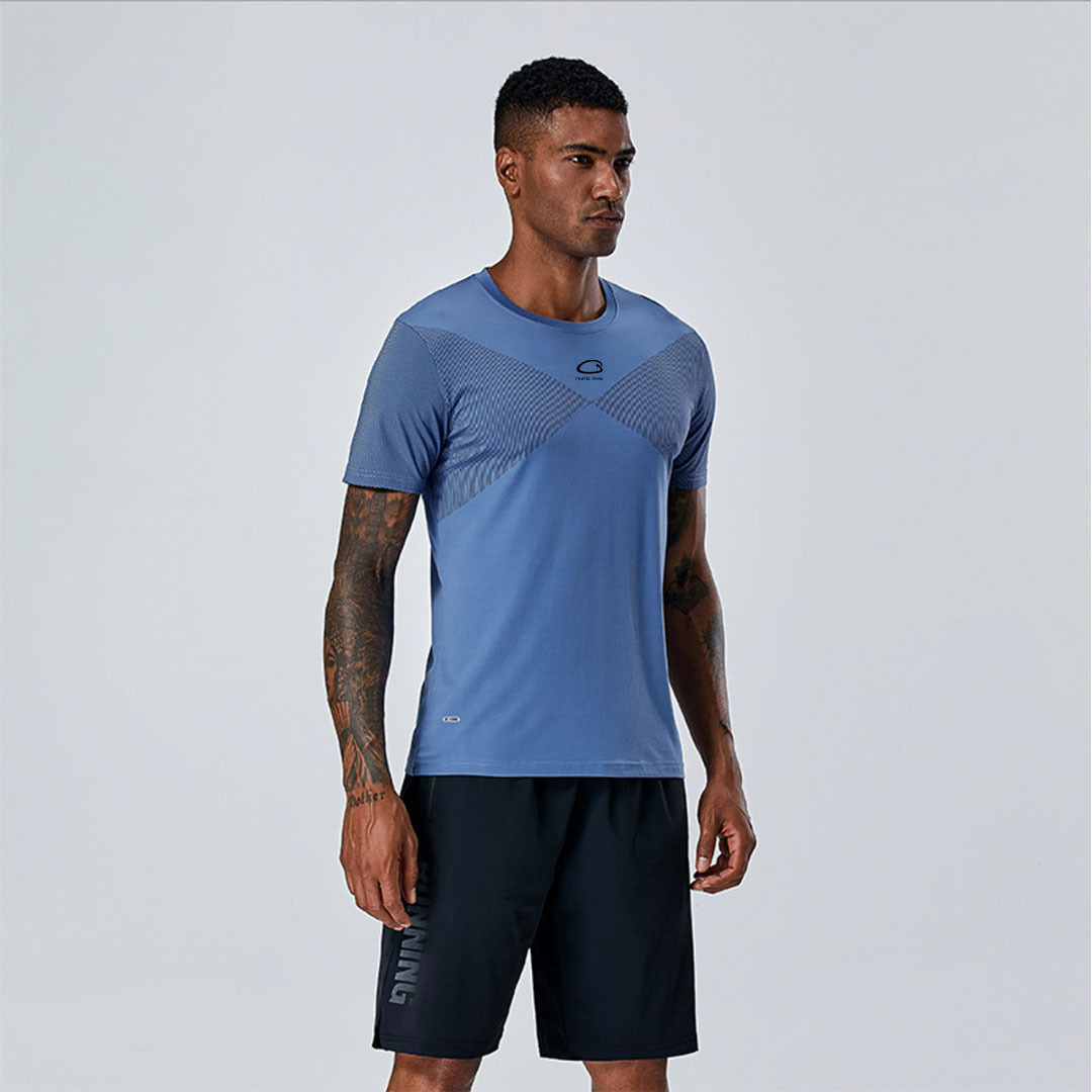 Футболка Overgym Blue