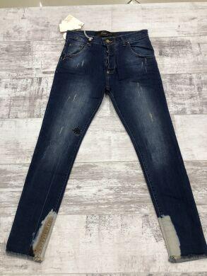 Мужские джинсы с латками-7300 - Хит сезона ! Новинка !