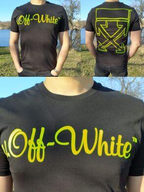 Мужская футболка хорошего качества с кислотным принтом -63030 - Новинка ! Топ продаж !