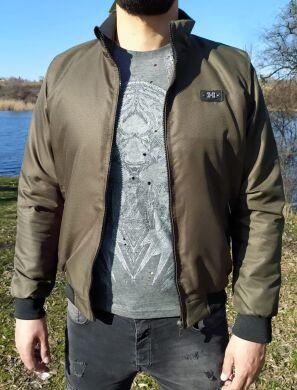 Мужская куртка с манжетами хаки -М-9 ESKI HAKI-31 - Топ продаж !
