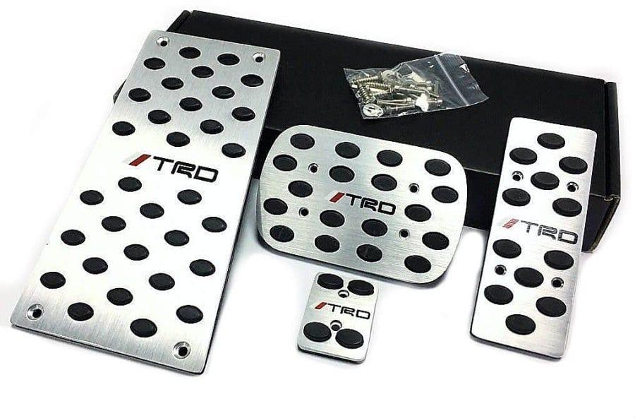 Накладки на педали (АКПП) для Toyota   ДекорАвто