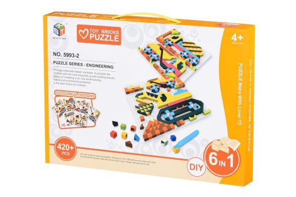 Пазл Same Toy Colour ful designs 420 эл. 5993-2Ut (5993-2Ut)