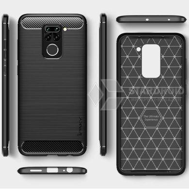 Чехол Hybrid Carbon для Xiaomi Redmi Note 9 / Redmi 10X (4G)