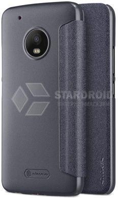 Кожаный чехол (книжка) Nillkin Sparkle для Motorola Moto G5 Plus