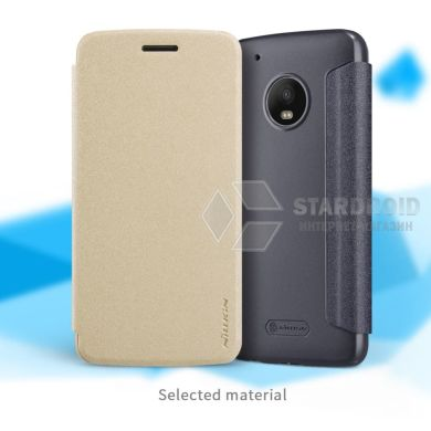 Кожаный чехол (книжка) Nillkin Sparkle для Motorola Moto G5 Plus (2 цвета)