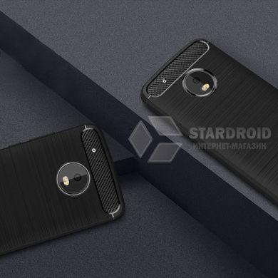 Силиконовый чехол Hybrid Carbon для Motorola Moto G5 Plus
