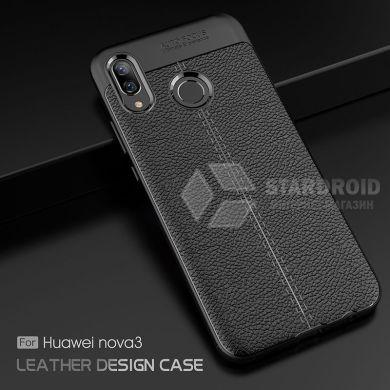 Защитный чехол Hybrid Leather для Huawei P Smart Plus