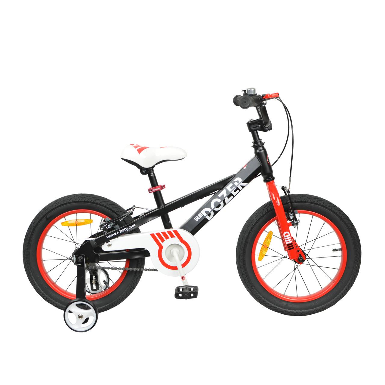 """Велосипед RoyalBaby BULL DOZER 16"""", OFFICIAL UA, черный"""