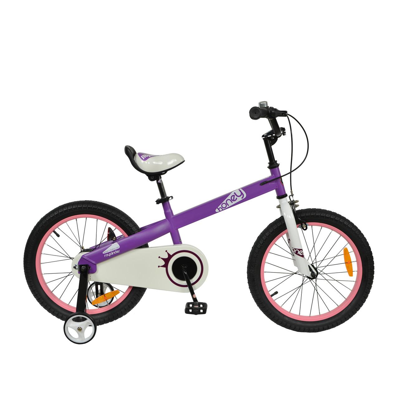 """Велосипед RoyalBaby HONEY 12"""", OFFICIAL UA, фиолетовый"""