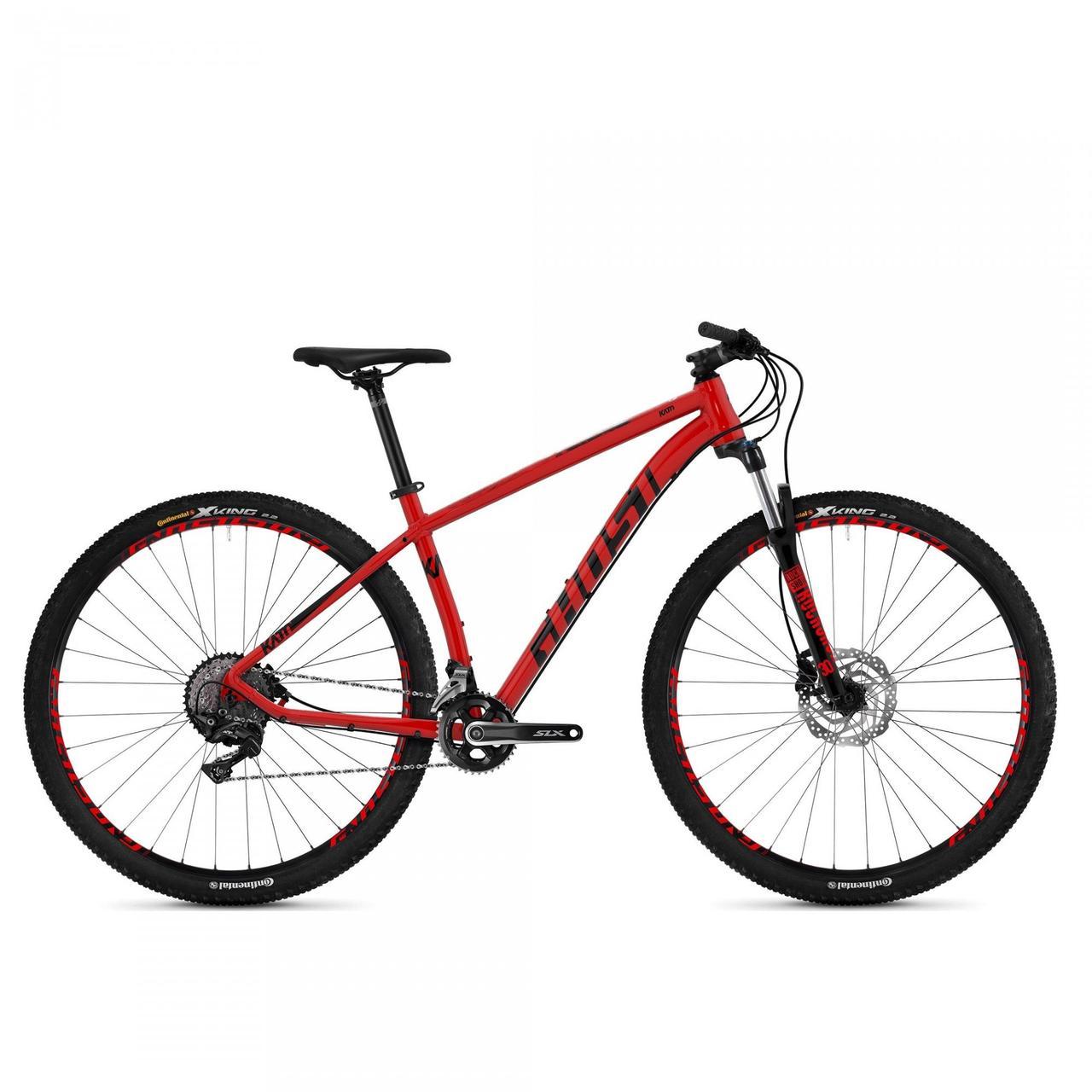 """Велосипед Ghost Kato 7.9 29"""" , рама M, черно-красный, 2019"""