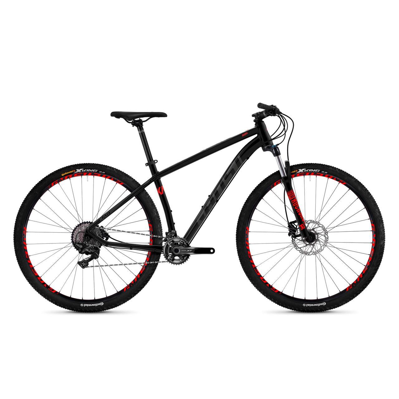 "Велосипед Ghost Kato 9.9 29"" рама L, черно-серо-красный, 2019"