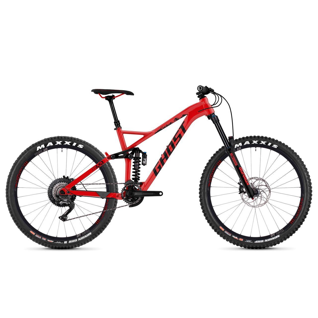 """Велосипед Ghost Framr 4.7 27.5"""" красно-черный, L, 2019"""