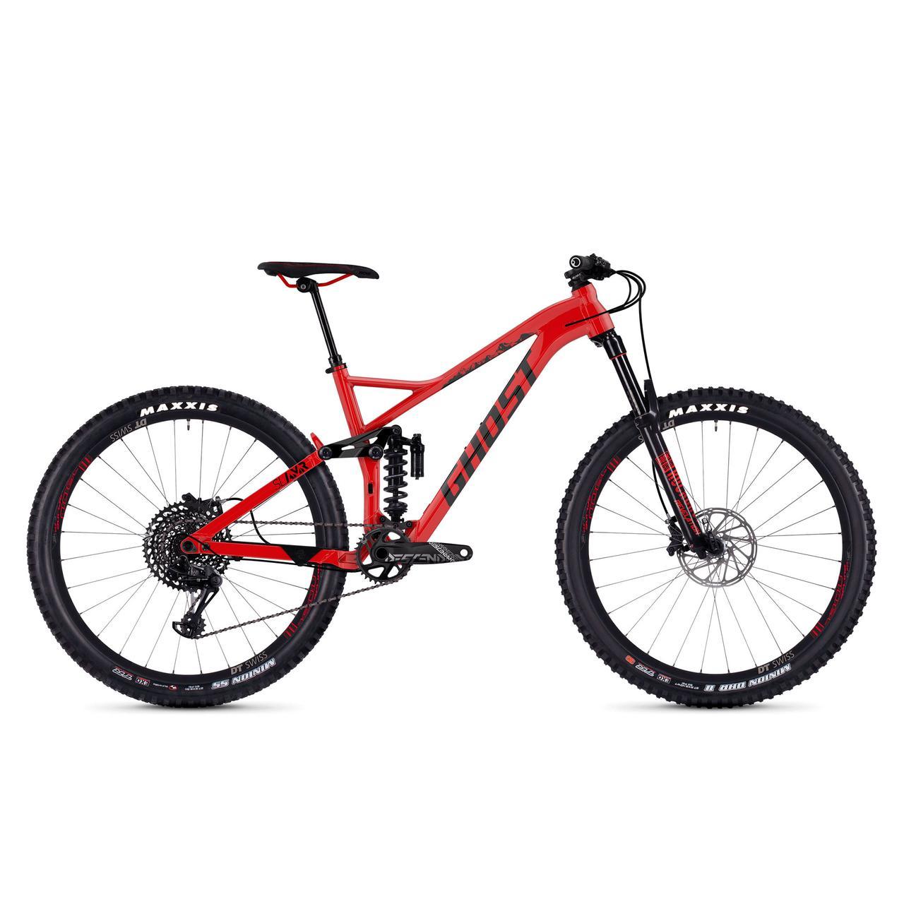 """Велосипед Ghost Slamr 6.7 27.5"""" красно-черный, L, 2019"""
