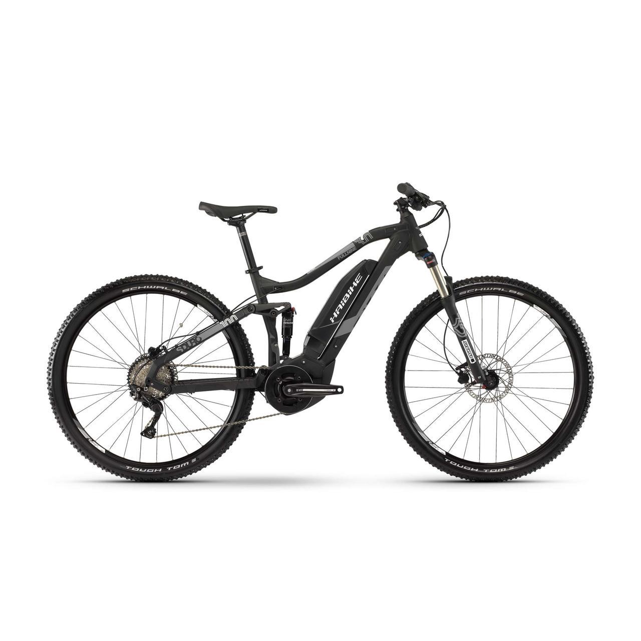 "Электровелосипед Haibike SDURO FullNine 3.0 500Wh 29"", рама L,черно-серо-белый матовый, 2019"