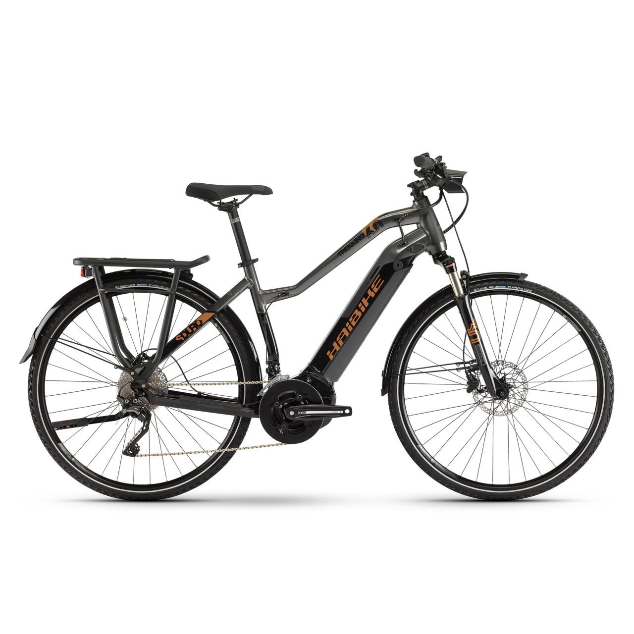 """Электровелосипед Haibike SDURO Trekking 6.0 Lady i500Wh 28"""", рама S, черно-титаново-бронзовый, 2019"""