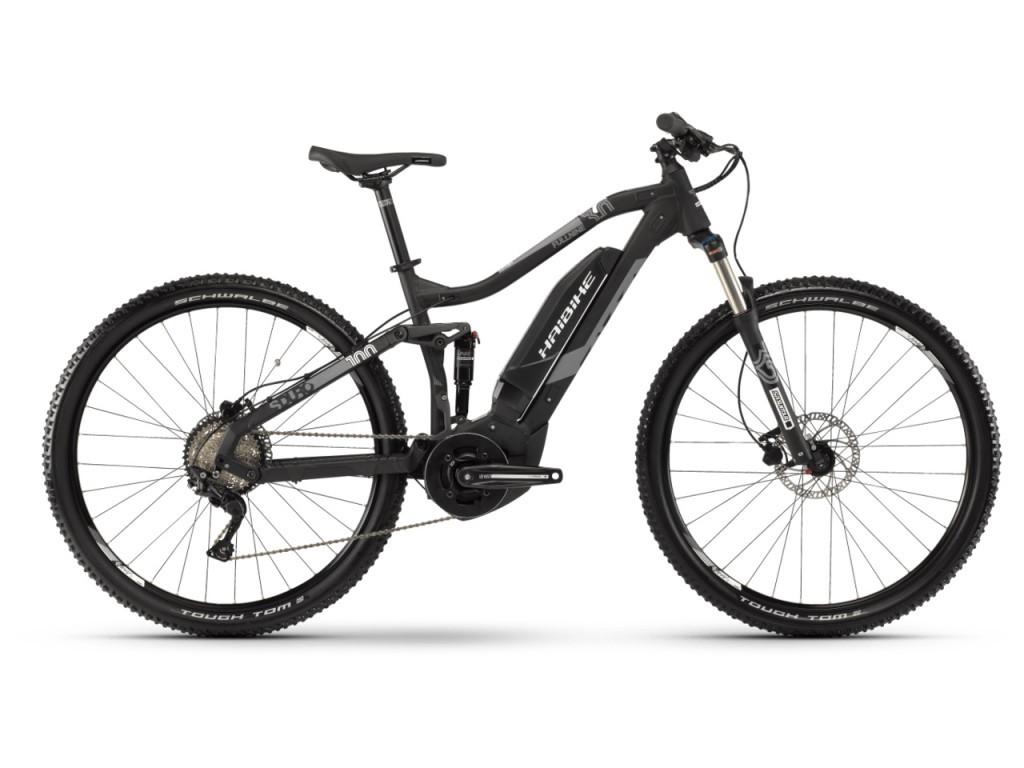 """Электровелосипед Haibike SDURO FullNine 3.0 500Wh 29"""", рама M, черно-серо-белый матовый, 2019"""