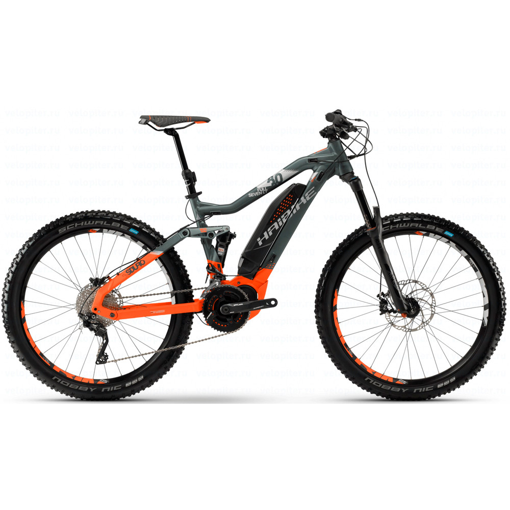 "Велосипед Haibike SDURO FullSeven LT 8.0 500Wh 27,5"", рама 48 cм, 2018, тестовый"