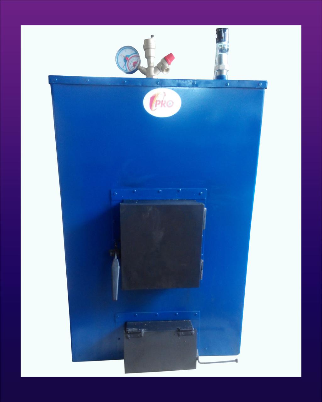 Пиролизный твердотопливный котел Про-М, 12 кВт