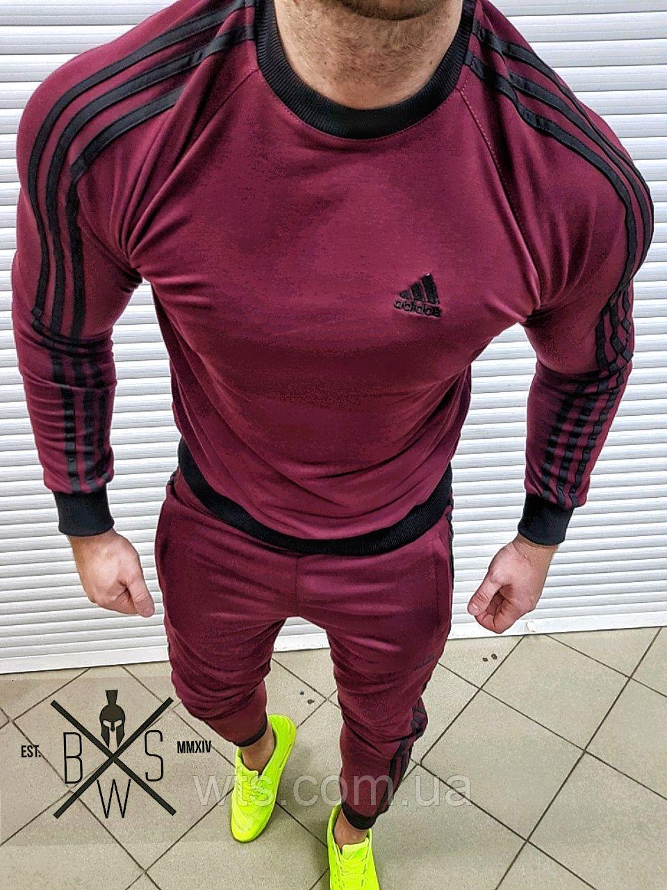 Костюм Adidas (черный, хаки, бордо)