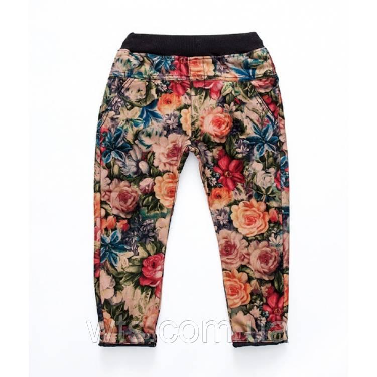 Штаны для девочки Flowers+
