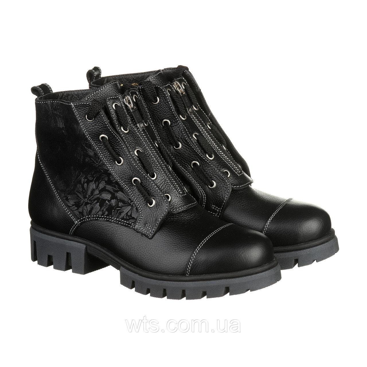 VM-Villomi Стильные ботинки на зиму с декорированной голенью