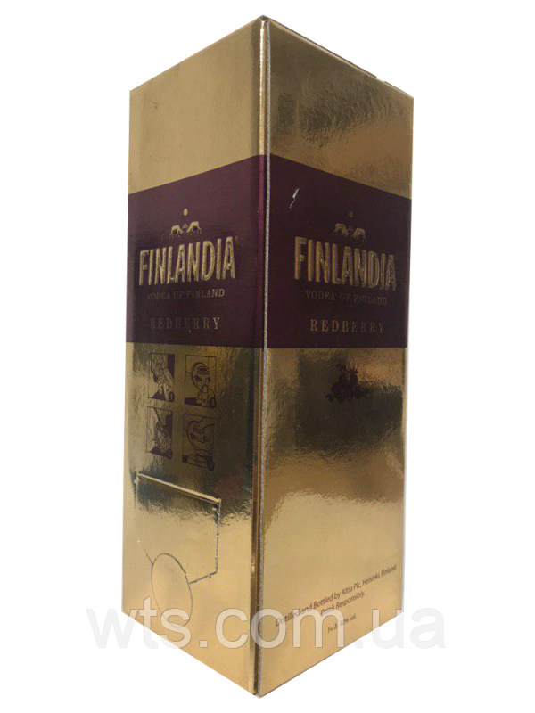 Водка Финляндия клюква 2л (FINLANDIA 2L)