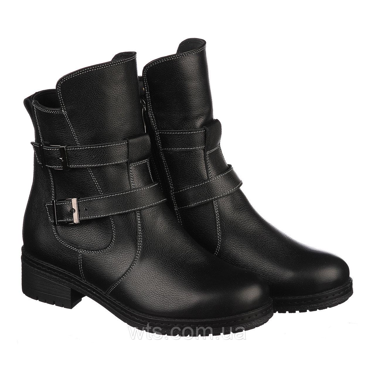 VM-Villomi Зимние женские ботинки черного цвета